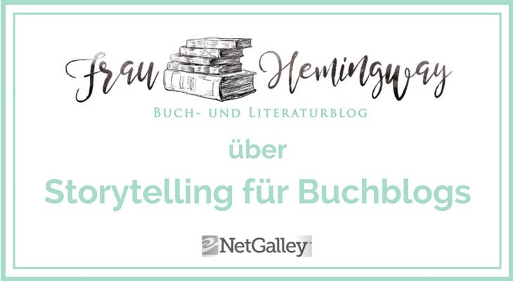 Storytelling für Buchblogs Header